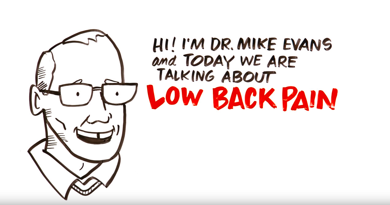 Low back pain video thumb