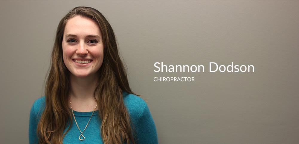 Shannon Dodson Chiropractor Victoria