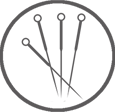 Acupuncture icon image
